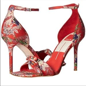 Dolce Vita Shoes - Dolce Vita Red Helana Floral Heels